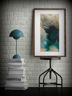 Modern Painting Watercolor Painting GICLEE Art by LDawningScott