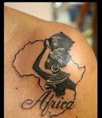 Image result for african queen crown tattoo