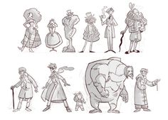 J+H lineup by otherwise on DeviantArt