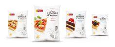 "new range ""Le Semole d'Autore""- naming&identity on Behance"