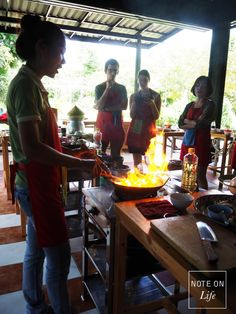 Thai Farm Cooking School Chiang Mai Northern Thailand Travel