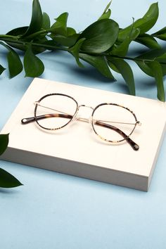 Subrosa glasses in Fauve colour. From the Sarah-Jeanne Labrosse X BonLook collaboration.