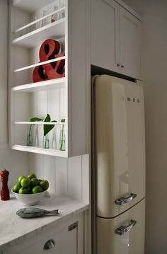 smeg two-door. I am in love and want this fridge.