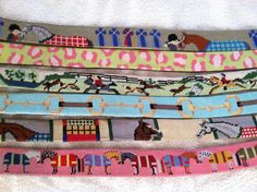 needlepoint belts for the equestrian  Horse Country Chic - richardandtherese@gmail.com - Gmail