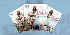 I am a fan of this Australian journalist and TV presenter named Sarah Wilson. Sheis the author of the Australian and UK best-sellersI Quit SugarandI Quit Sugar For Life. I Quit Sugar was released in the USA and Canada April 2014 and is a New York Times best-seller. I wasa sugar addict (yes I confess) …