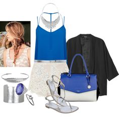 """""""Summer Blues"""" by misstannat on Polyvore"""