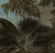 Paysages grisaille ou sépia - Lombok bleu sépia 400x240 - ultra mat