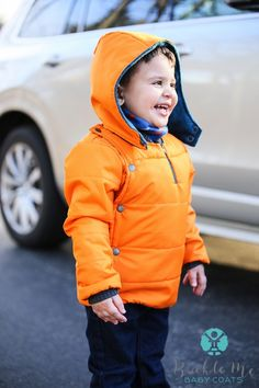 Keep your little one's toasty this winter with the Buckle Me Baby Coats. Never worry about your child's safety while wearing a coat in the car seat! These coats are tested by CPSTs, first responders, and EMTs.