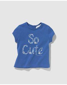 Camiseta de bebé niña