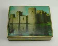Vintage Sharp & Sons Toffee Tin, England, H.M. the King