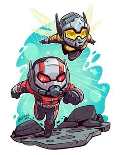marvel chibi Cant wait for Antman amp; The Wasp! P - marvel Marvel Dc Comics, Marvel Avengers, Chibi Marvel, Marvel Cartoons, Marvel Fan, Marvel Heroes, Marvel Drawings, Cartoon Drawings, Character Drawing