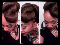 HOW TO Side Twist Bun Hair Tutorial YouTube Naturally - Diy updos youtube