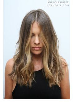 Long Wavy Ash-Brown Balayage - 20 Light Brown Hair Color Ideas for Your New Look - The Trending Hairstyle Blonde Hair Goals, Brown Blonde Hair, Light Brown Hair, Light Hair, Light Blonde, Sunkissed Hair Brunette, Brunette Hair, Hair Color Balayage, Hair Highlights