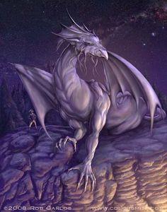 Lien - by Rob Carlos * Dragon Fantasy Myth Mythical Mystical Legend Dragons Wings Sword Sorcery Art Magic Drache dragon drago dragon Дракон  drak dragão