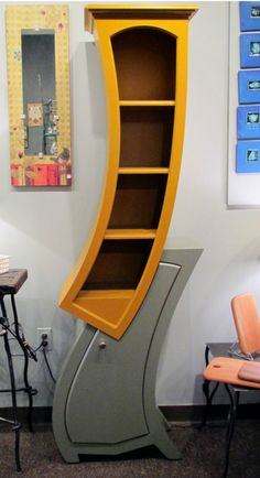 5   Stepped Accent Bookcase | Furniture, Eclectic Bookcases And Future House