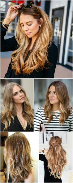 30 Loiros Para Inspirar Hair Beauty That I Love Pinterest