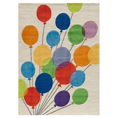 Lil' Mo Up, Up, and Away Rug