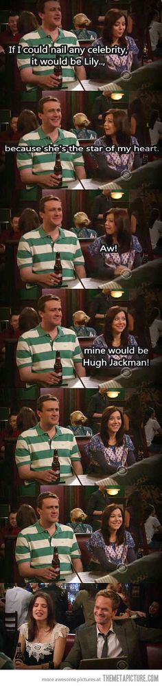 HIMYM on celebrity crushes