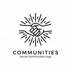 Illustration about Holding hand logo. Community logo, help logo, holding hand with monoline style. Illustration of handshake, design, group - 130926990 Logo Branding, Branding Design, Eye Logo, Logo Inspiration, Hand Logo, Helping Hands Logo, Logo Mano, Logo Abstrait, Apps