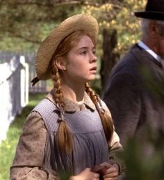 I loved Megan Follows expressive face in Anne of Green Gables!