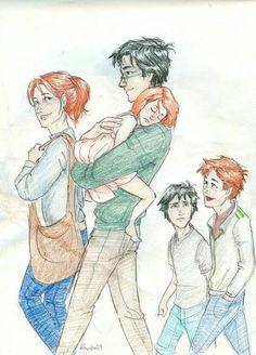 Harry Potter familie