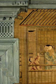 Philadelphia Hall at Winterthur Antique Wallpaper, Hand Painted Wallpaper, Asian Love, Winterthur, Virtual Museum, Chinoiserie Chic, Asian Decor, Silk Road, Country Farm