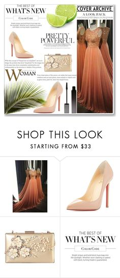 """""""COMIGO 20"""" by miinni ❤ liked on Polyvore featuring Christian Louboutin, Rimen & Co., Martha Stewart and Serge Lutens"""