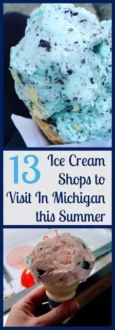 """July marks National Ice Cream Month, and the team at Milk Means More is celebrating summer's favorite treat all month long. We asked you, """"What is your favorite ice cream stop?"""" and compiled the results. Check out your Top National Ice Cream Month, No Dairy Recipes, Summer Treats, Michigan, Shops, Nutrition, News, Check"""