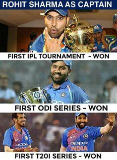 Great start of Rohit Sharma's captaincy career - http://ift.tt/1ZZ3e4d