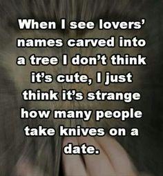 Dating humor