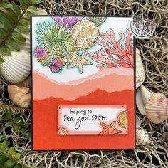 Hero Arts Cards, Beach Cards, Cricut Cards, Art Sites, Gift Card Giveaway, Card Kit, Bold Prints, Art Blog, Cardmaking