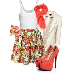 Transition: Summer to Fall, created by karrina-renee-krueger on Polyvore