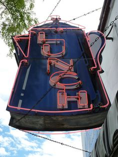 """LUNCH""  [Sign - *Kenosha, Wisconsin*]~[Currently known as ""The Coffee Pot"" - 4914 7th Avenue, Kenosha]~[Photo by Angie Naron - June 20 2010]'h4d'"