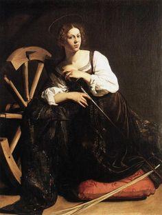 Caravaggio, St. Catherine of Alexandria: