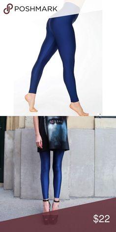 AMERICAN APPAREL High Waist Nylon Tricot Leggings excellent condition / HIGH WAIST / size medium American Apparel Pants Leggings