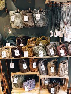 Seydou Handbags Scandinavian style inspired crocheted clutch bags, MINI handbags and tote bags with short or long handles. Scandinavian style inspired crocheted clutch bags, MINI handbags and tote bags with short or long handles. Crotchet Bags, Crochet Tote, Crochet Handbags, Crochet Purses, Knitted Bags, Crochet Crafts, Knitted Blankets, Tote Bags Handmade, Handmade Handbags