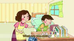 Englisch Lernen ☆ Was machst du? Ich spiele. ☆ Englisch für Kinder