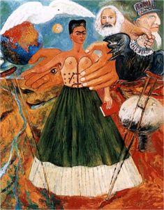 """""""Il marxismo guarirà gli infermi"""", 1954. Frida Kahlo."""