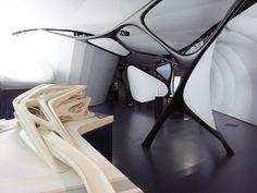 zaha hadid: une architecture at the chanel mobile art pavilion