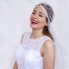 """Свадебный тюрбан и цвет губ """"кардинал"""""""
