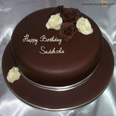 Happy Birthday Cake With Name Edit Online Write Name On Happy