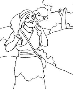 Jesus The Good Shepherd Colouring Pages Page