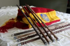 8 Wizard Wands by WandsAndWood on Etsy