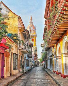 Cartagena, Kolumbia.