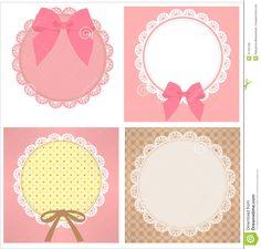 Cute Lace Pattern Royalty Free Stock Photo - Image: 31162105