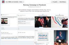 También Romney tuvo su presencia en redes sociales...