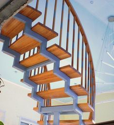 When planning the house that consists of two or more floors, you should calculate and design the location of the staircase in advance. This structure. Metal Steps, Wooden Steps, Wooden Staircases, Steel Rod, Wooden Bar, Staircase Design, Wood And Metal, Modern Decor, Beams