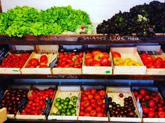 Typical French fruit and veg #travel #igtravel #travelblog #wanderlust #europetrip #france #europe #europetravel #vegetables by triplytravel