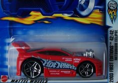 HOT WHEELS 2003 FIRST EDITIONS #42 MITSUBISHI ECLIPSE  FREE SHIPPING!!