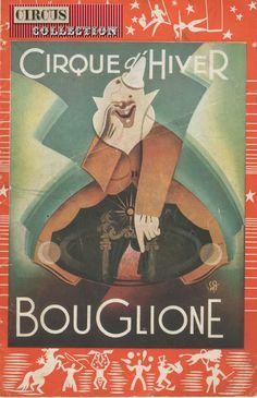 Cirque d'Hiver Bouglione 1953 -1954